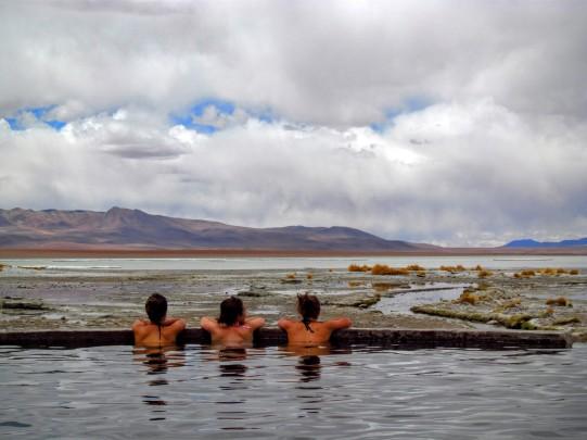 Les sources thermales sont nombreuses en Bolivie.