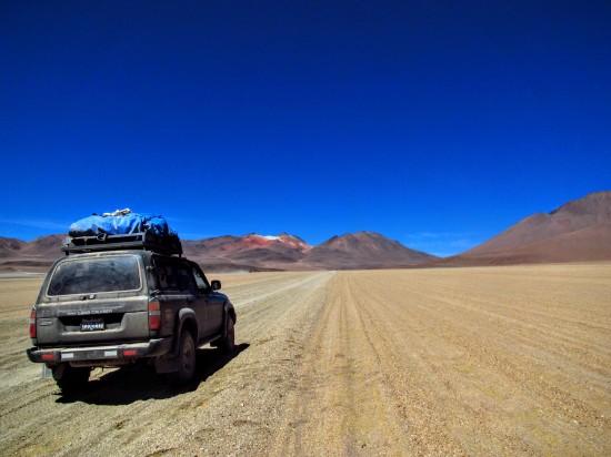 L'excursion de Jeep dans les déserts, un incontournable.