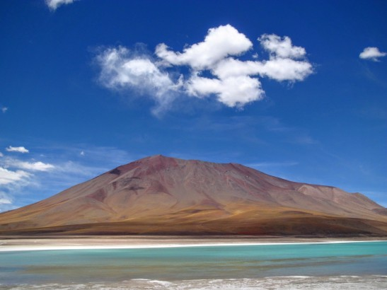 Le Laguna Verde affiche ses couleurs resplendissantes !