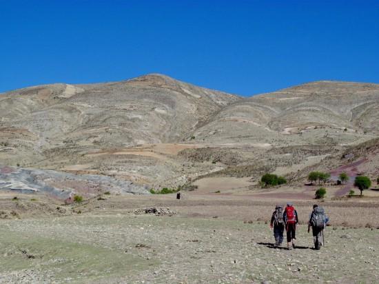 Notre randonnée dans les villages ruraux autour de la capitale Sucre.