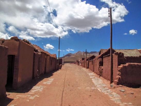 San Pedro de Lipez, un village quasi fantôme.